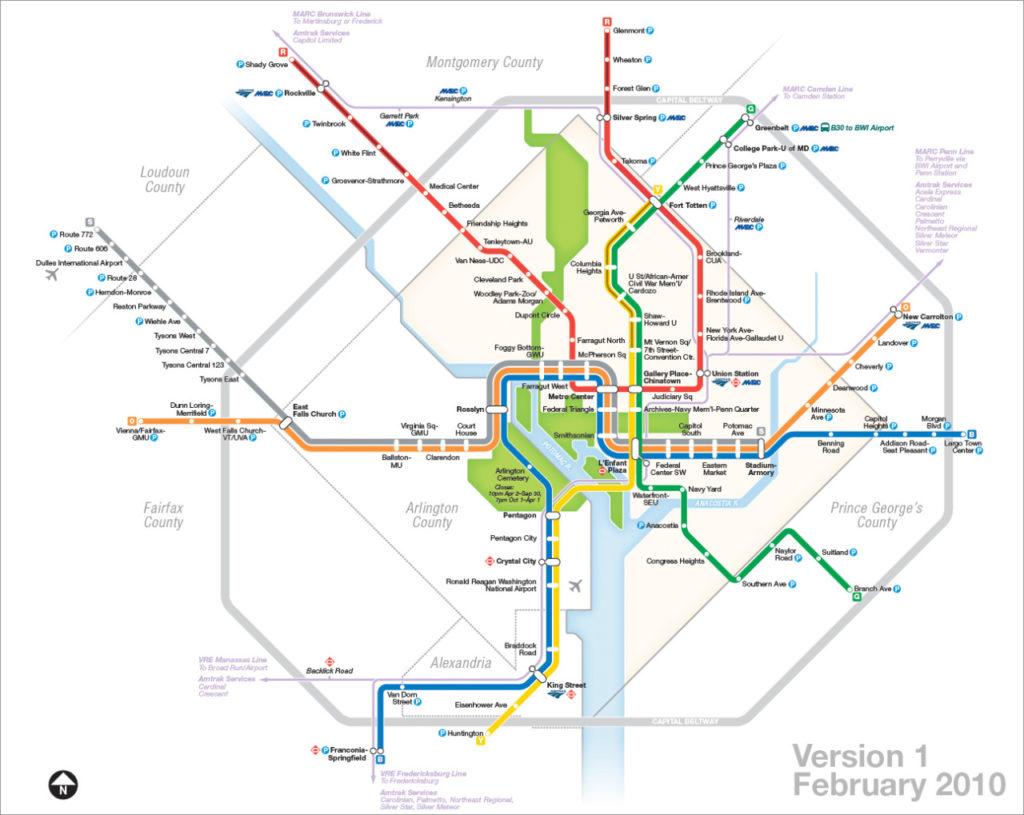 Silver Line Washington Dc Metro Map.Transit Maps The Evolution Of My Washington Dc Metro Map