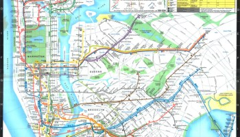 1979 Subway Map.Transit Maps Historical Map Working Sketch For 1979 New York
