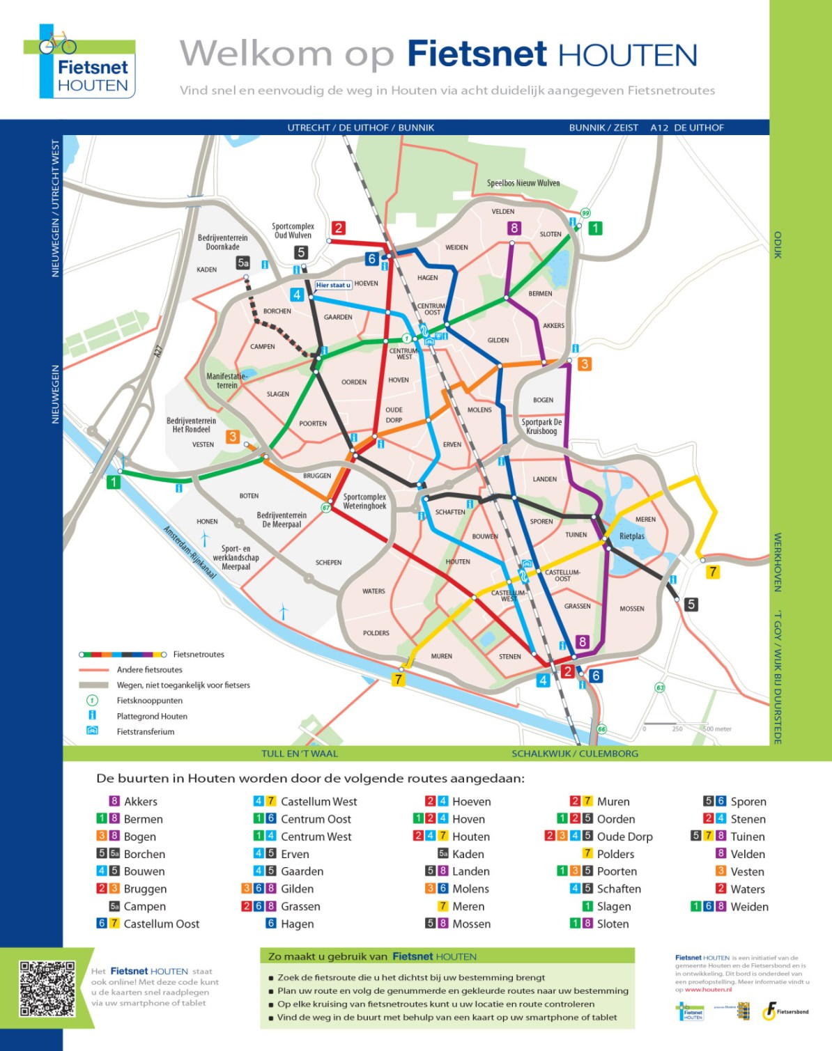 Transit Maps: Submission – Official Map: Bike Network Map of ...