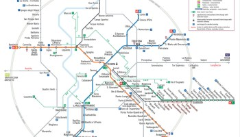Transit Maps: Submission – Official Map: Servizio