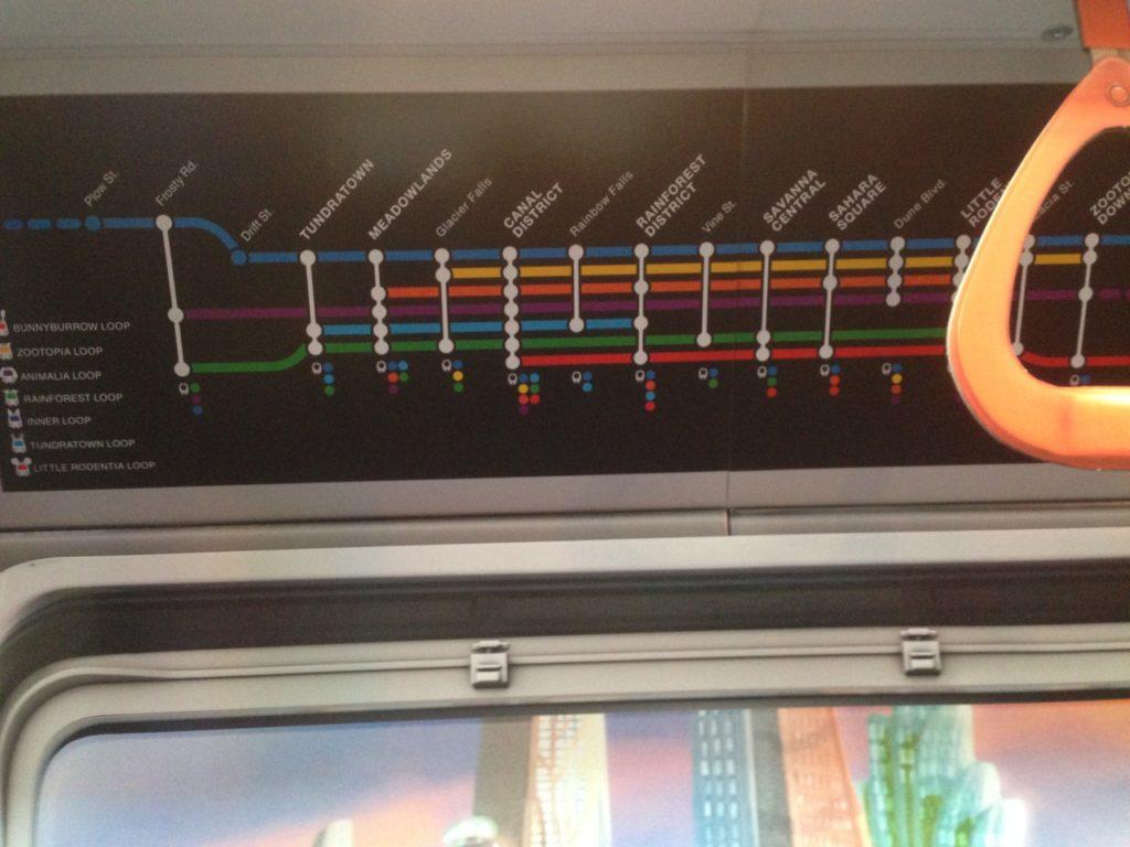 Zootopia Transit Authority Subway Map.Transit Maps Fantasy Maps Zootopia Transit Authority Maps