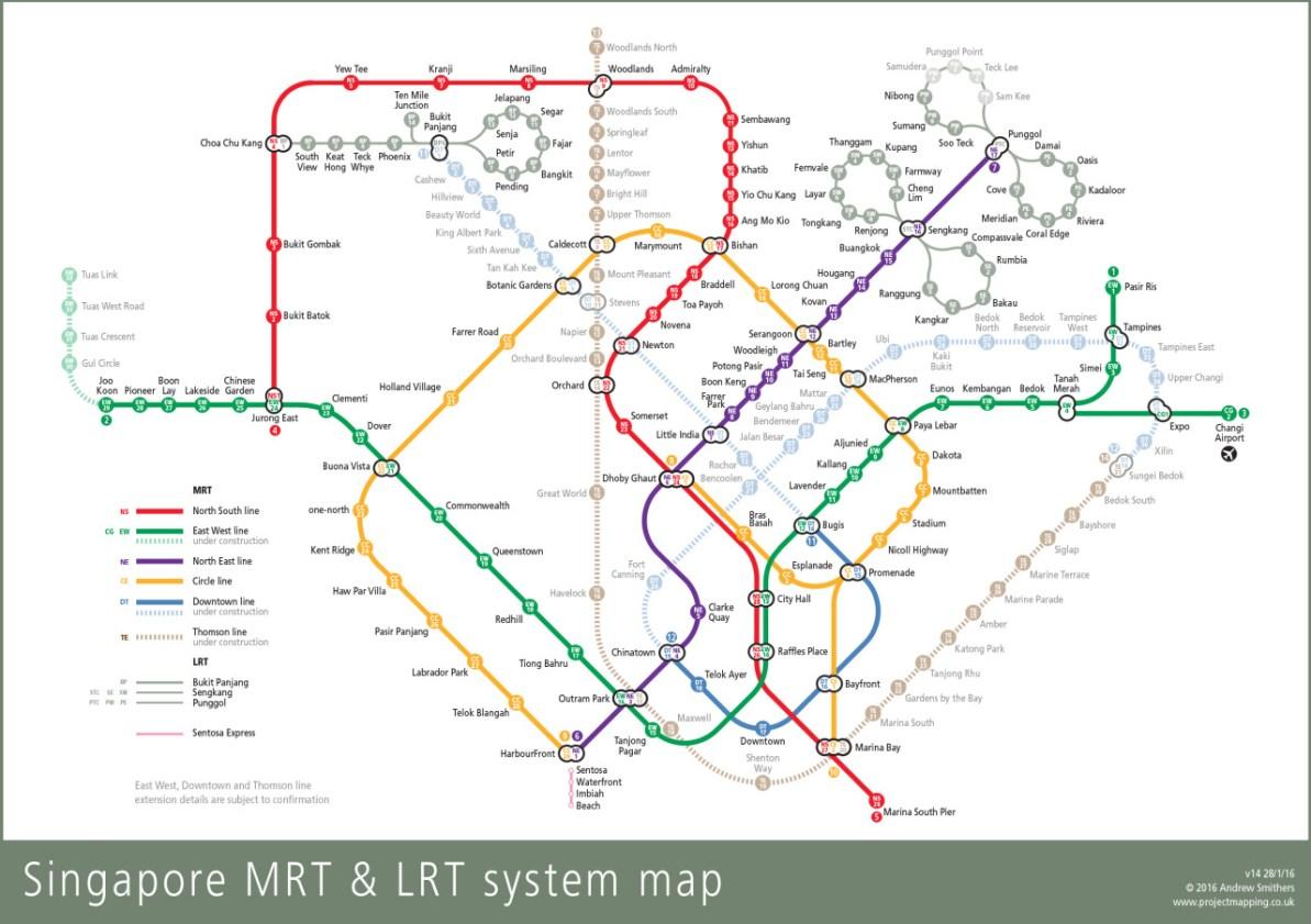 Transit Maps Mrt