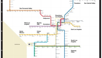 Sfm Subway Map.Transit Maps Future Maps Strip Maps For Los Angeles Metro Rail In