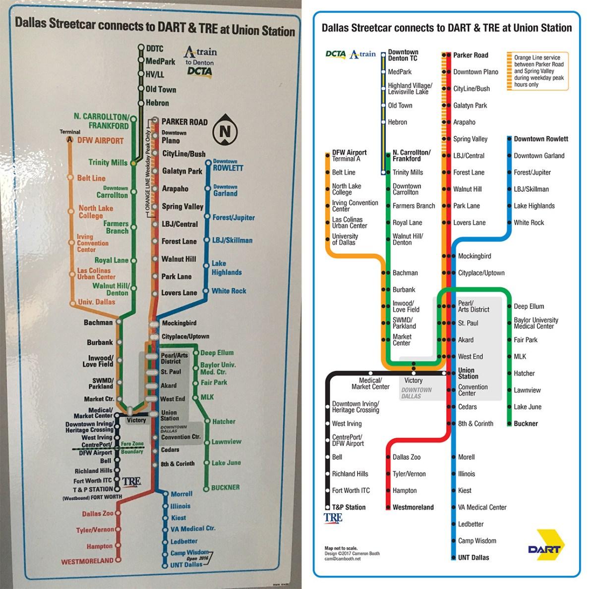 Transit Maps: Quick Project: Redesign of the Dallas ... on dallas state map, dallas arlington map, dallas tx map, dallas usa map, dallas co map, dallas location on map, dallas area map, dallas pa map, dallas ga, dallas wv map, dallas nc map, dallas or map, dallas vamc map, dallas california map, dallas texas map clip art, dallas florida map, veterans administration hospital temple texas map, dallas washington map, dallas eu map, dallas sd map,