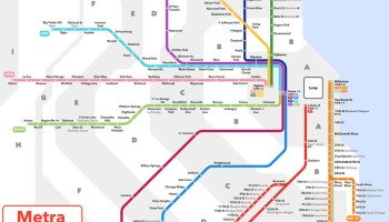 Transit Maps: Official Map: Chicago Regional Transportation ...