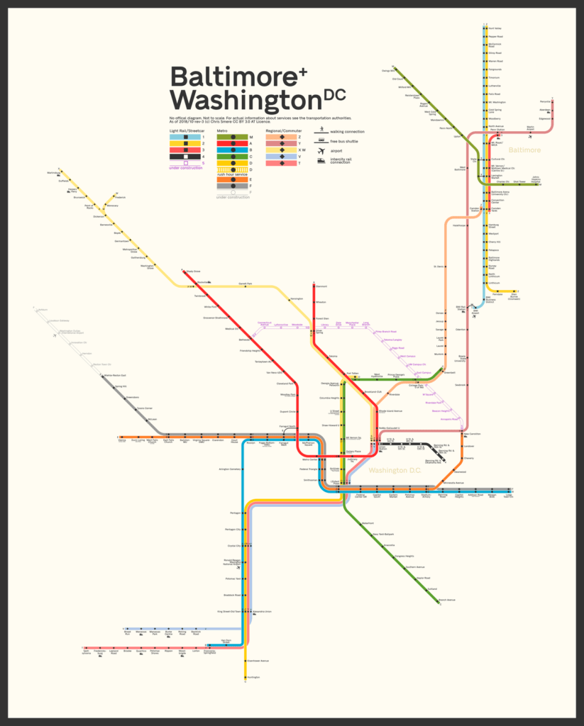 Muni Subway Map.Transit Maps Submission Fantasy Map Integrated Rail Diagram Of