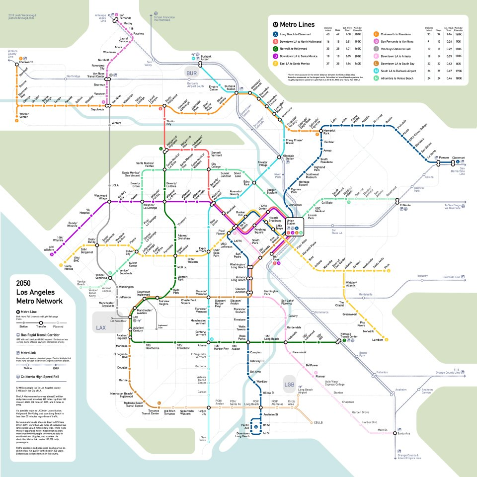 San Diego Subway Map.Transit Maps