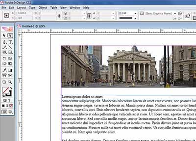 Program Adobe InDesign Adobe Program Screenshot.