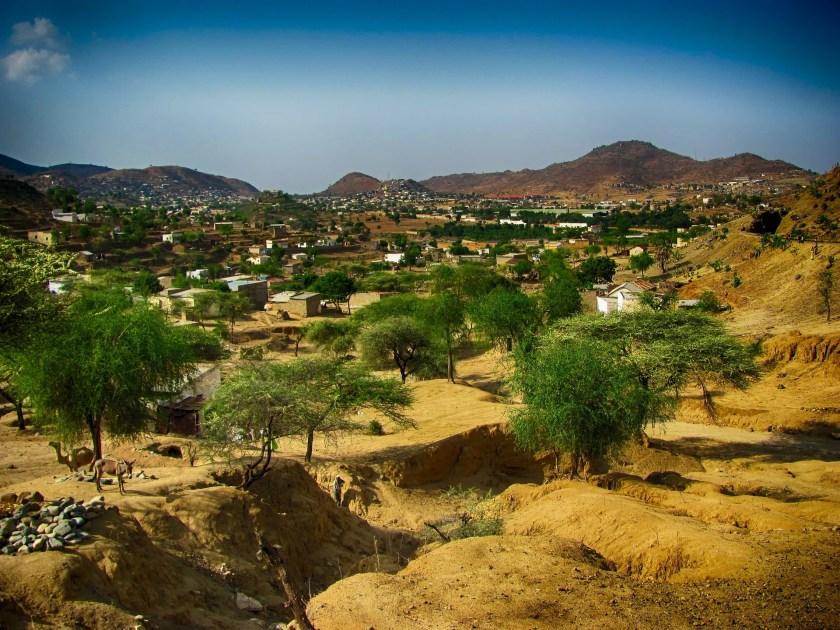 Eritrea Landscape, Ghinda