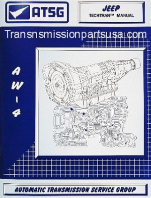 Transmission repair manual Jeep AW4 transmission manual