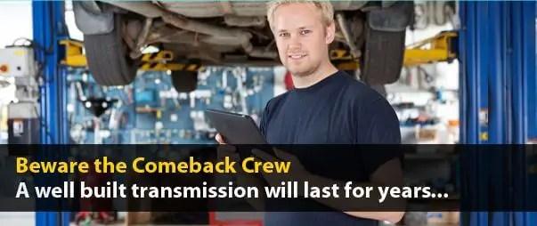Beware the Comeback Crew