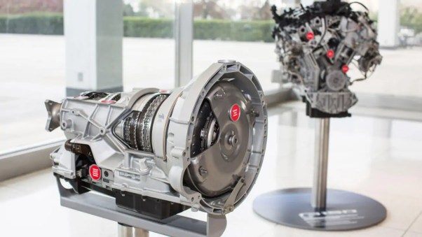 Image of a 2017 Ford F-150 10-speed transmission