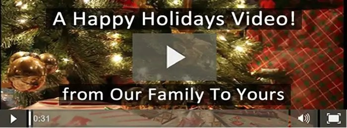 An Inspiring Happy Holidays Video