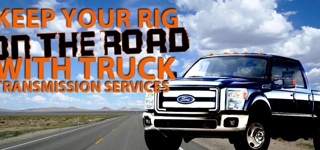 Truck Transmission Service Tips
