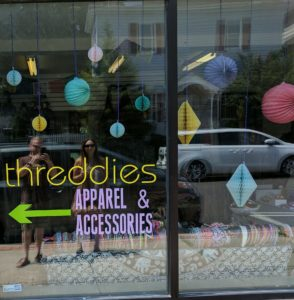 Threddies store front