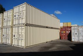 buy new 40 foot high cube storage containers
