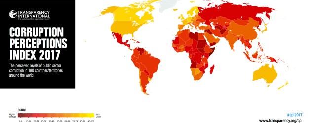 cpi-2017-global-map