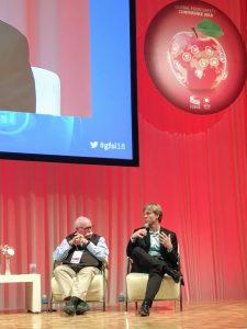 Chris Morrison speaks at GFSC 2018