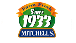 Mitchells's fruit farms company logo