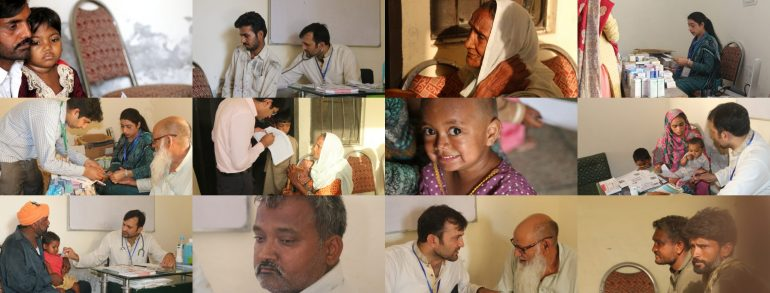 Transparent Hands Organized Medical Camp with Packages Foundation