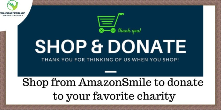 Shop from AmazonSmile to donate to your favorite charity