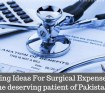 Fundraising Ideas For Surgical Expenses to help the deserving patient of Pakistan
