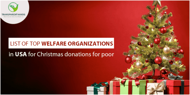 List of Top 15 Welfare Organizations in USA for Christmas Donations for Poor
