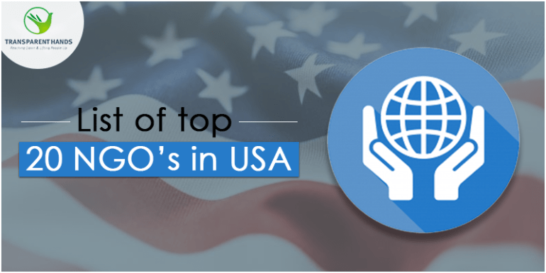 list of top 20 ngos in USA