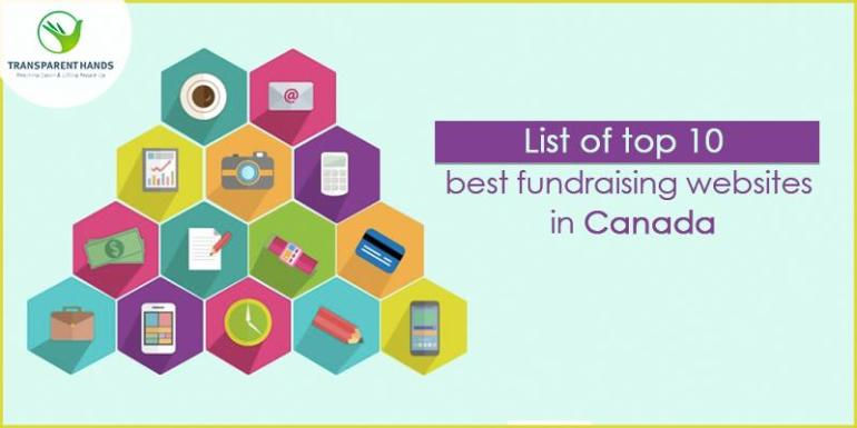 List of Top 10 Fundraising Websites in Canada