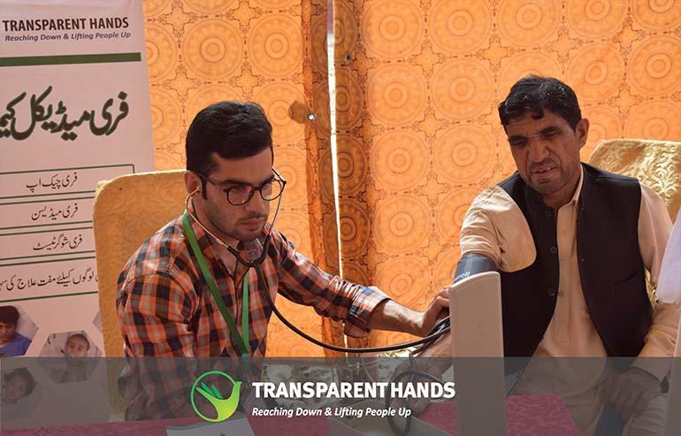 Free Medical Camp in Pakpattan