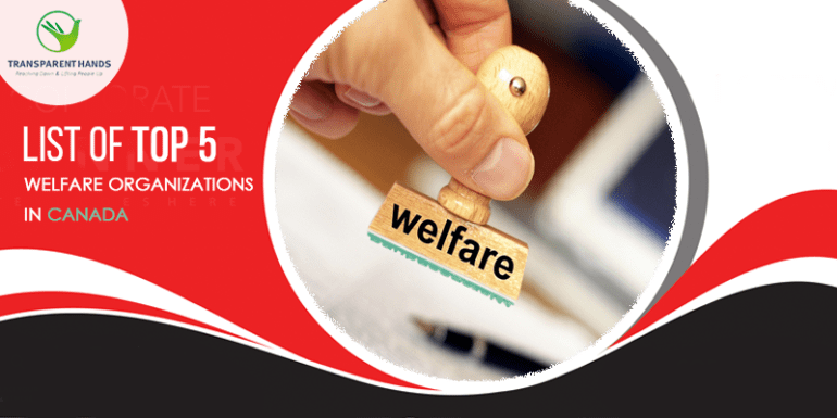 List of Top 5 Welfare Organizations in Canada