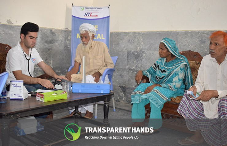 Free Medical Health Checkup Camp Organized by TransparentHands