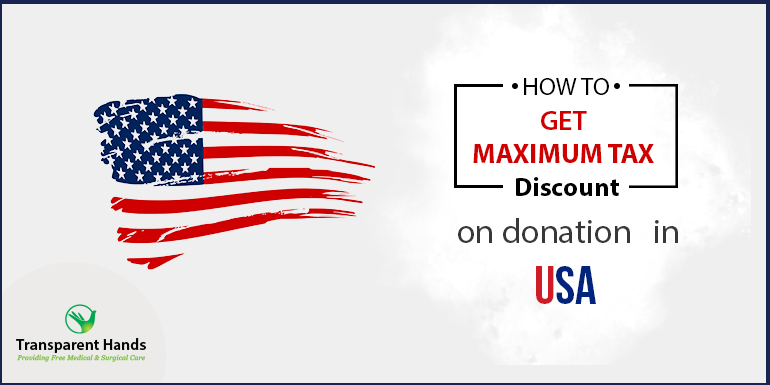 How to Get maximum Tax discount on Donation in USA