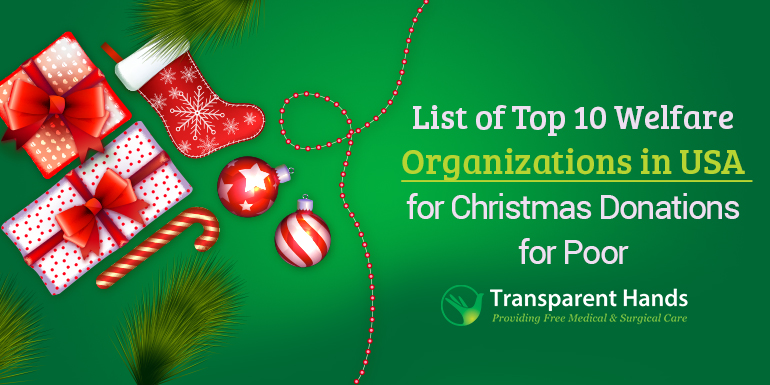 List of Top 10 Welfare Organizations in the USA for Christmas Donations for poor