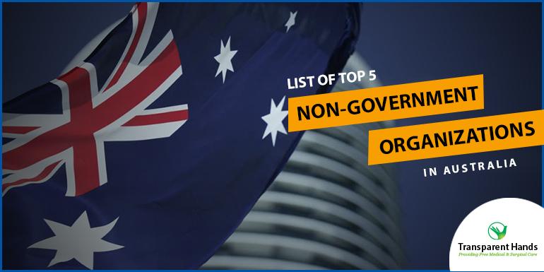 List of Top 5 Non-Government Organizations in Australia