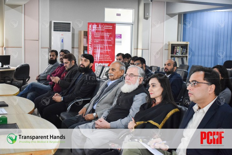 audience listening to the speech of Misbah ul haq