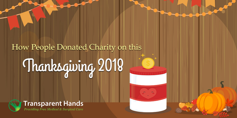 How People Donated Charity on this Thanksgiving 2018