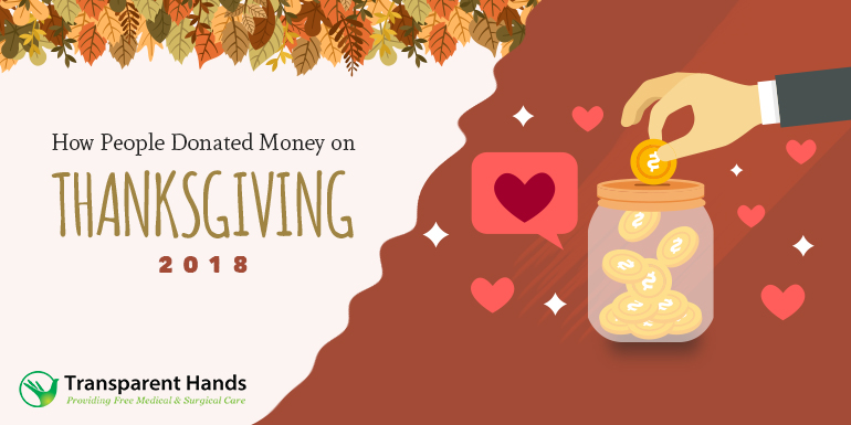 How People Donated Money on Thanksgiving 2018