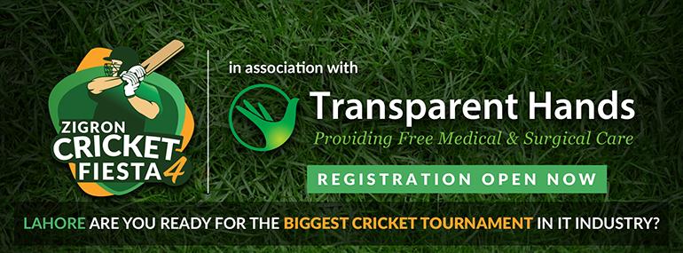 Proud Partner of Zigron Cricket Fiesta 4 2019