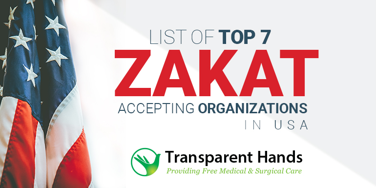 List of Top 7 Zakat Accepting Organizations in USA