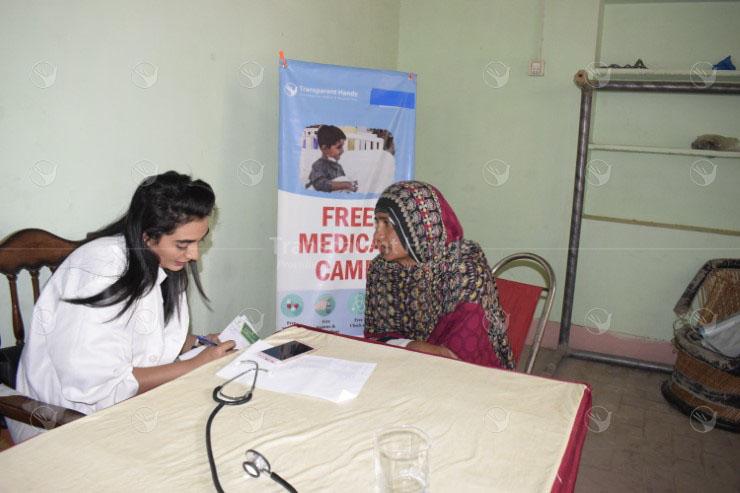 Medical Camp at Bazeed Pur