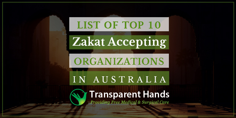 List of Top 10 Zakat Accepting Organizations in Australia