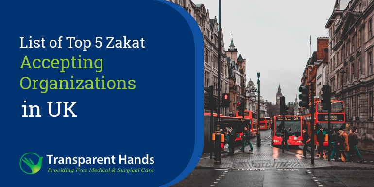 List of Top 5 Zakat Accepting Organizations in UK