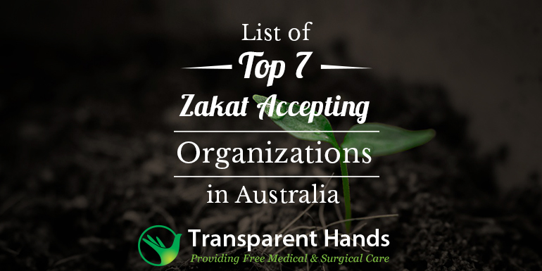 List of Top 7 Zakat Accepting Organizations in Australia