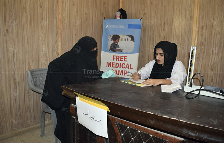 Medical Camp in D.G. Khan