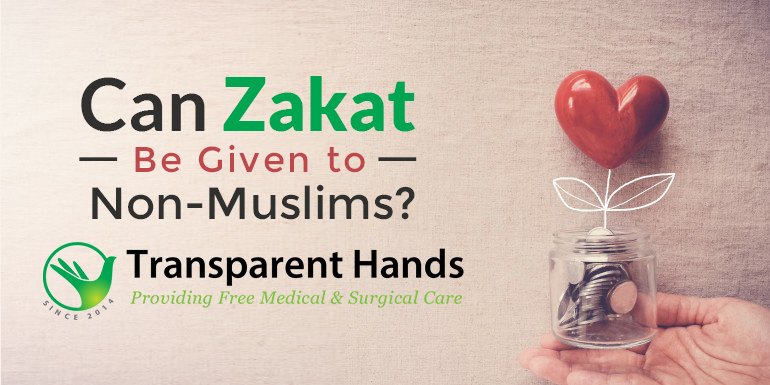Can Zakat be given to Non-Muslims?