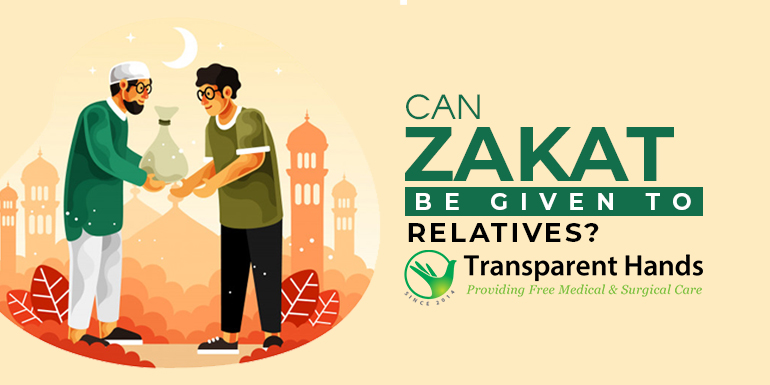 Can zakat be given to relatives?