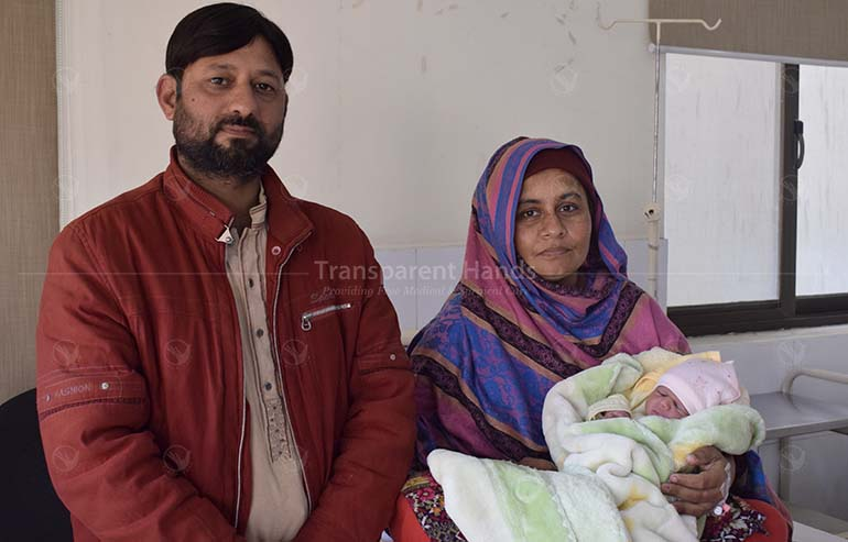 Mubashira's baby boy is happy and healthy