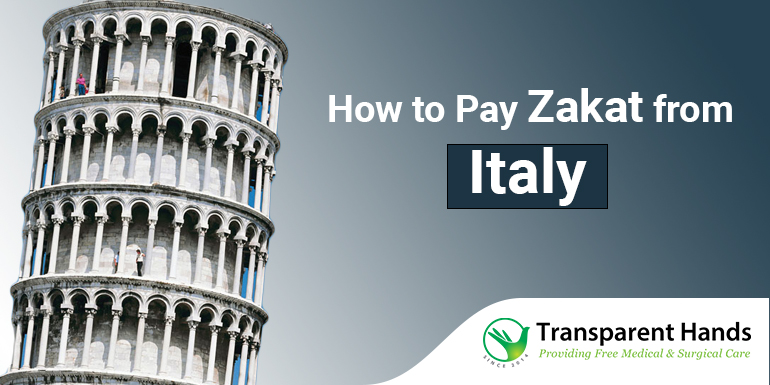 How to Pay Zakat From Italy