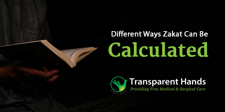 Different Ways Zakat Can Be Calculated
